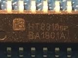 HT8310无电感升压 D/AB类切换5.2W单声道功放IC