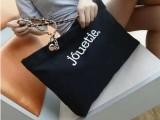 新款韩版女包潮流帆布包个性链条手提包时尚休闲印花单肩包批发