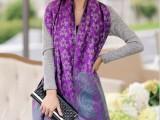 民族风秋冬季新款超长超大加厚遮阳保暖空调两用女士围巾披肩批发