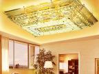 客厅长方形水晶灯欧式led水晶灯吸顶灯卧室灯餐厅灯具一件代发913