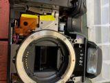 佳能 尼康 單反相機拍照顯示條紋維修,鏡頭維修
