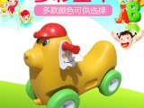 供应幼儿园玩具车摇摇车加厚塑料滑轮车四轮小马滑车溜溜车