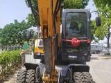 个人轮胎挖机租赁 绿化 土方 破碎 开挖
