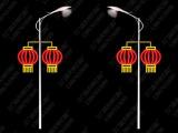 本厂专业生产LED艺术灯杆灯饰 造型灯 中国结 灯笼
