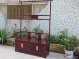 实木展示柜中式仿古玻璃陈列展柜组合玉器古文玩茶叶榆木珠宝柜台