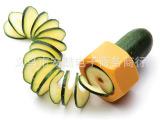 螺旋式螺帽造型黄瓜切片器厨房料理工具黄瓜削片器 美容切片工具