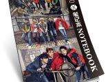 exo集体日记本 软抄本韩国文具 学习用品 动漫明星周边纪念品