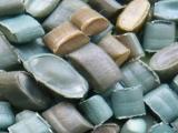 供应 PE杂色再生料-管材、板材料