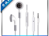 厂家热卖 苹果iPhone4代4S耳机 篮板线控耳机 ipad1