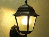 小四角户外壁灯欧式壁灯现代简约室外防水庭院灯具led灯饰