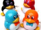 QQ企鹅创意儿童发条玩具批发 地摊热销货源厂家直销