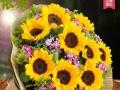 开业花篮,节日生日花束,玫瑰,百合市区免费配送。