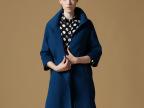 羊绒大衣女款 2014欧美新款纯手工缝制高端品牌双面羊绒大衣8082