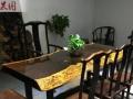 实木大板黑檀胡桃木桌茶几老板桌办公桌餐桌现货