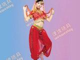 广州儿童演出服幼儿园表演服装 印度舞蹈服民族少儿新疆舞肚皮舞
