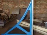 新日厂家供应铸铁直角尺 镁铝合金平尺 花岗石方尺