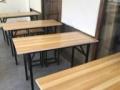 9成新折叠桌子转让