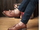 批发 可代理 夏季英伦低帮 温州尖头皮鞋 尖头单鞋 一件代发男鞋