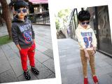 外贸童卫衣批发冬款品牌童装韩版原单冬季新款儿童卡通卫衣