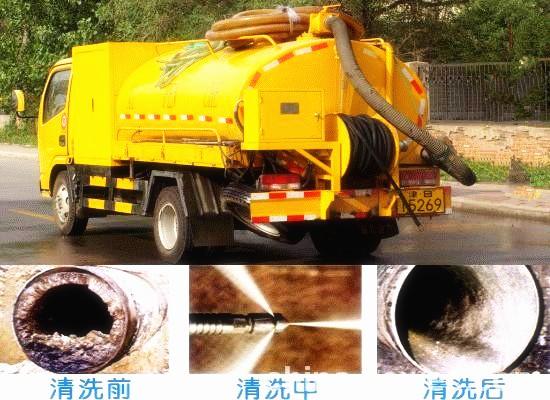 北京全城疏通下水道马桶地漏 管道疏通 清理化粪池高压清洗管道