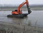 徐工210型水陆两用挖掘机出租服务价格便宜