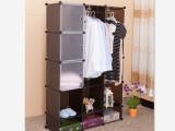 简易衣柜 组合多功能折叠收纳衣橱 加固钢架简易衣柜 衣柜厂家