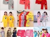 春季新款韩版儿童卫衣套装中小童五角星连帽卫衣套装 厂家批发