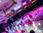 上海婚礼玻璃舞台租赁 灯光音响租赁 婚礼现场布置等