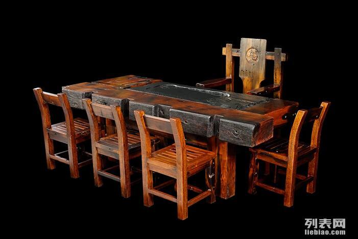厂家直销老船木家具茶台客厅阳台泡茶桌功夫茶几