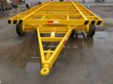3T框架式平板拖车参数
