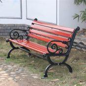 厂家批发定制 公园椅铸铝 户外园林休闲椅 公园椅