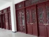 四川 貴州 陜西仿古家具 仿古門窗生產廠 實木花格門窗制作