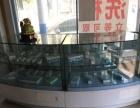 扇形玻璃展柜