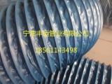 山东丰运蓝色风管160mm吸气臂风管尼龙布伸缩软管