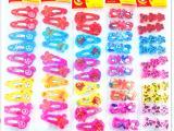 彩色糖果色儿童边夹发夹发饰发卡儿童饰品 二元店2元小商品批发