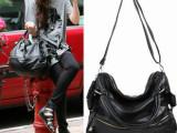 厂家直销女包新款流苏黑色欧美大包手提单肩斜跨女士包包一件代发