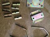 泉州五金厂家直销 新款优质高档镀彩锌V型螺丝天线 夹马通信天线