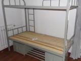 上下鋪鐵架床學生員工宿舍高低床單雙人公寓床雙層床鐵藝床