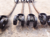 批发供应钢丝绳索具 卸扣 吊环巴氏合金浇铸成