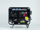 南充350A柴油发电电焊机开架式