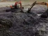 鄭州二七沼澤地清於挖機出租