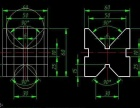 闵行cad绘图培训,机械图施工图建筑图培训包教会
