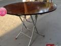 折叠桌方圆桌聚会桌方便折叠不占位置 昆明市区可以送