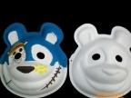 面具 面谱 纸塑面具 DIY 熊猫