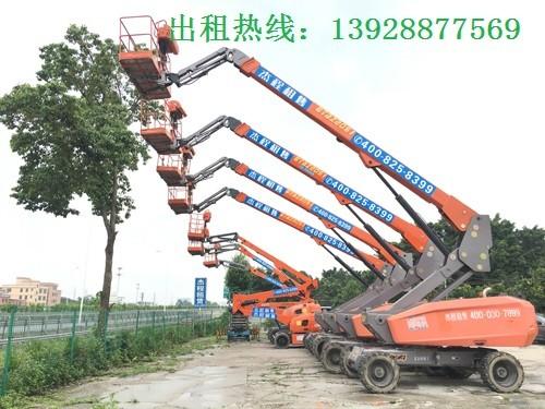 惠州出租电动升降机,博罗厂房安装站人升降平台出租