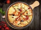 披萨也可以做拼盘了