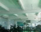 港口镇沙港中路二楼600平现成办公室装修 地坪漆