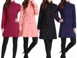 厂家直销哥弟阿玛施同款冬装大衣羊毛呢子大衣211