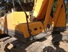 张家界个人一手现代225-9挖掘机整机原版,性能可靠