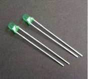 3MM 发光管 LED 发光二极管 绿色发光管